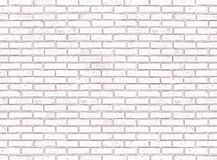 Seamless white brick wall royalty free stock photos