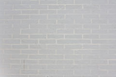 Seamless white brick wall - background pattern for continuous re Royalty Free Stock Image