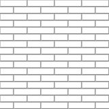 Seamless white brick Royalty Free Stock Photo