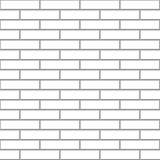 Seamless white brick Royalty Free Stock Photo