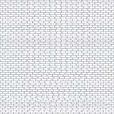 Seamless white brick wall pattern for background. vector illustration