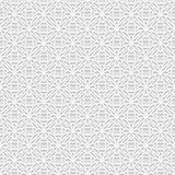 Seamless white 3D pattern, arabic motif, east ornament,. Indian ornament, vector EPS 10. Endless texture can be used for wallpaper, pattern fills, web page royalty free illustration
