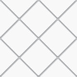 Seamless white diagonal square tiles Royalty Free Stock Photos