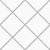 Seamless white diagonal square tiles Royalty Free Stock Photos
