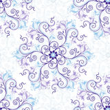 seamless white för blå modell Arkivfoton