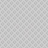 Seamless white geometric pattern Royalty Free Stock Photo