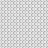 Seamless white geometric pattern Stock Images