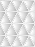 Seamless White Geometrical Background Stock Image