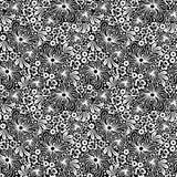 Seamless white lace Royalty Free Stock Photos