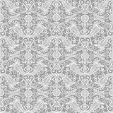 Seamless lace floral pattern Stock Photography
