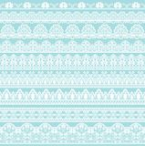 Seamless white lace Stock Photo