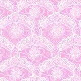 Seamless lace pattern Stock Photos