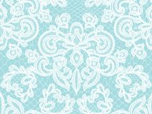 Seamless white lace Royalty Free Stock Image