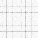 Seamless white layered tiles background Royalty Free Stock Photography