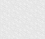 Seamless white pattern, floral pattern, indian ornament, persian motif,  vector. Endless texture can be used for wallpaper, patter Royalty Free Stock Photography