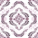Seamless white-pink pattern Stock Photos