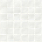 Seamless white square tiles Stock Images
