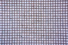 Seamless white square tiles texture. White Mosaic Tiles abstract background royalty free stock photos