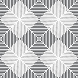 Seamless white squares with cut lines Royalty Free Stock Photography