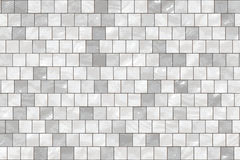 Seamless white tiles Royalty Free Stock Photo