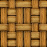 Seamless wicker background Royalty Free Stock Photography