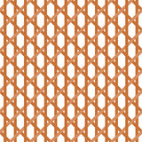 Seamless Wicker Pattern Royalty Free Stock Photo