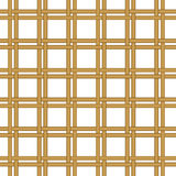 Seamless wicker woven texture background Royalty Free Stock Images
