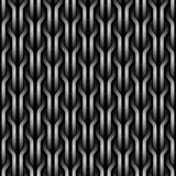 Seamless wickerwork pattern. Royalty Free Stock Photos