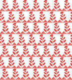Seamless wild flower pattern Royalty Free Stock Photo