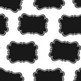 Seamless Wild West Labels Pattern Royalty Free Stock Photography