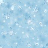 Seamless winter background Royalty Free Stock Photos