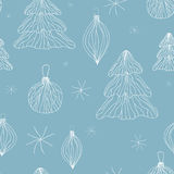 Seamless winter background. christmas pattern. Set of seamless winter background. christmas pattern illustration Royalty Free Stock Photos