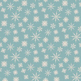 Seamless winter background with snowflakes Royalty Free Stock Photos