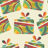 Seamless winter  Christams pattern Stock Image
