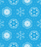 Seamless winter color hand-drawn pattern Stock Images
