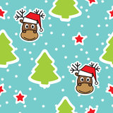 Seamless winter pattern, Christmas Royalty Free Stock Image