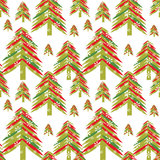Seamless winter pattern, Christmas Stock Photography