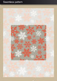 Seamless winter Pattern Royalty Free Stock Photography