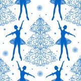 Seamless winter pattern Royalty Free Stock Photo