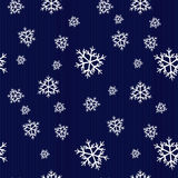 Seamless winter pattern Stock Image