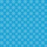 Seamless Winter Snow Flakes Background Pattern Stock Photo