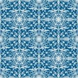 Seamless winter wallpaper pattern. Stock Image