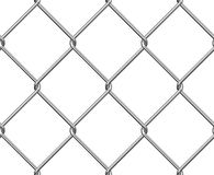 Seamless Wire Fence. Seamelss Wire Fence isolated on white Royalty Free Stock Image