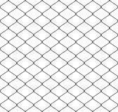 Seamless wire mesh. Isolated on white background Royalty Free Stock Image