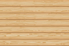 Seamless wood brown background pattern from boards Stock Images