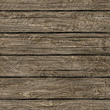 Seamless wood brown part plank texture Stock Images