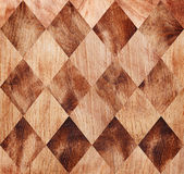Seamless wood chessboard background. Royalty Free Stock Image