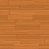 Seamless Wood Floor Vector Stock Photo