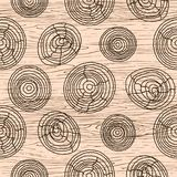 Seamless wood grain pattern. Wooden texture vector background. Seamless wood grain pattern. Wooden texture light beige and gray vector background Royalty Free Stock Images