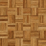 Seamless wood parquet texture chess brown. For render interior or your background Stock Image